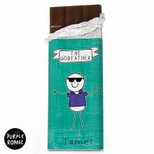 Purple Ronnie Cool Dude Chocolate Bar