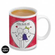 Purple Ronnie Couples Mug