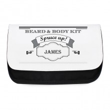 Spruce Up Personalised Wash Bag For Him