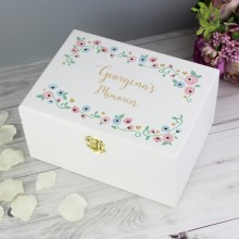 Personalised Fairytale Wooden Keepsake Box