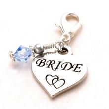 Bride Heart Charm