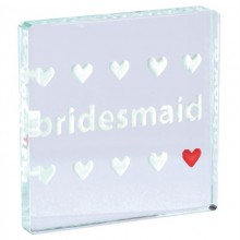 Bridesmaid Mini Token by Spaceform