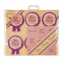 Truly Hen Party Badge