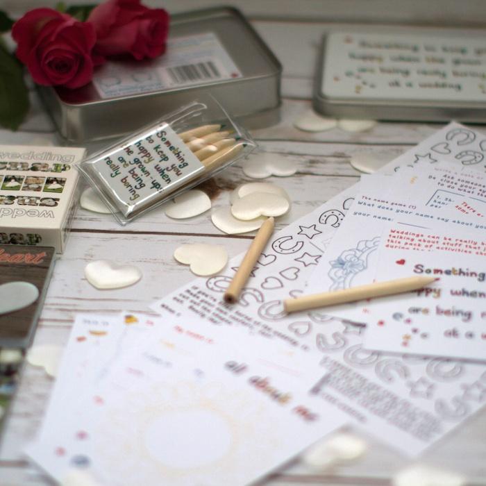 Wedding Activity Set For Children Bridal Gift Box