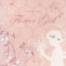 Enchanted Days Flower Girl Thank You Card