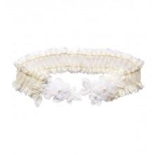 Freya Ivory Lace Wedding Garter