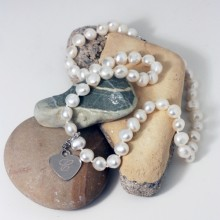 Freshwater Pearl Necklace White