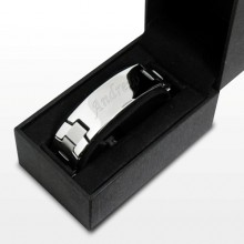 Stainless Steel Men's ID Bracelet