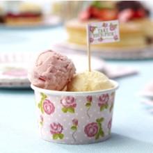 Vintage Rose - Ice Cream Bowls