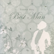 Enchanted Days Best Man Card