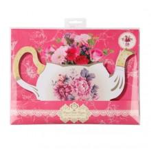Truly Scrumptious Teapot Vase
