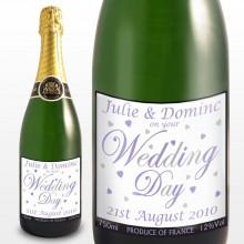 Personalised Wedding Champagne