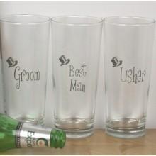 Wedding Pint Glass