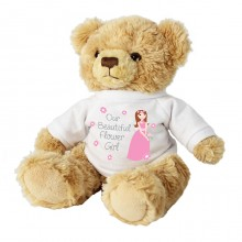 Our Beautiful Flower Girl Teddy