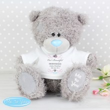 Me To You Bridesmaid / Flower Girl Teddy with T-Shirt
