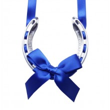Royal Blue Lucky Horseshoe