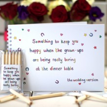 Something to keep you happy - The Wedding Version
